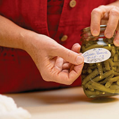label the jars with the name of the contents, the date it was canned, and if needed the batch number