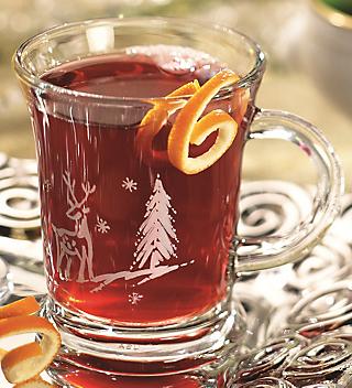 Hot Fruited Tea