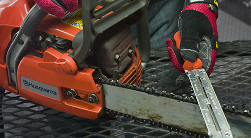 How to sharpen a chainsaw tractor supply co how to sharpen a chainsaw greentooth Images