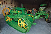 John Deere collection at Sindt Antique Museum