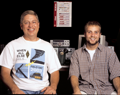 Joel Esslinger and his son, Adam - Tractor Supply Co.