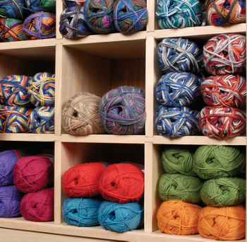 different varieties of yarn