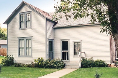 the Ingalls' family home