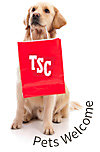 Pets welcome at the Tractor Supply Store