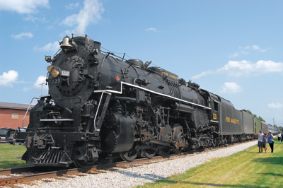 train locomotive - the Pere Marquette No. 1225