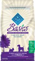 blue basics dry dog food