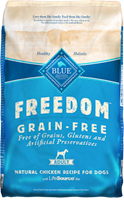 blue freedom dry dog food