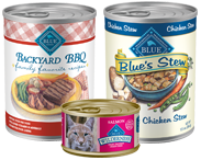 BLUE CANNED FOODS