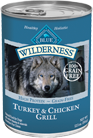 blue wilderness canned food