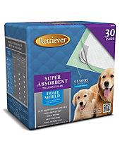 Retriever Super Absorbent Training Pads 30 per package.