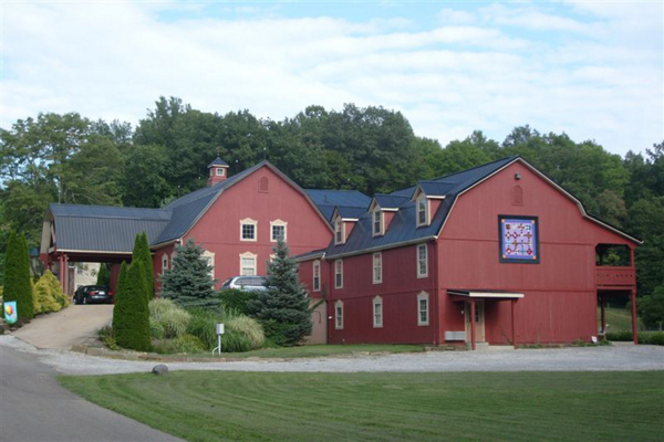 A barn in Ohio that's been renovated into a bed-and-breakfast - Tractor Supply Co.