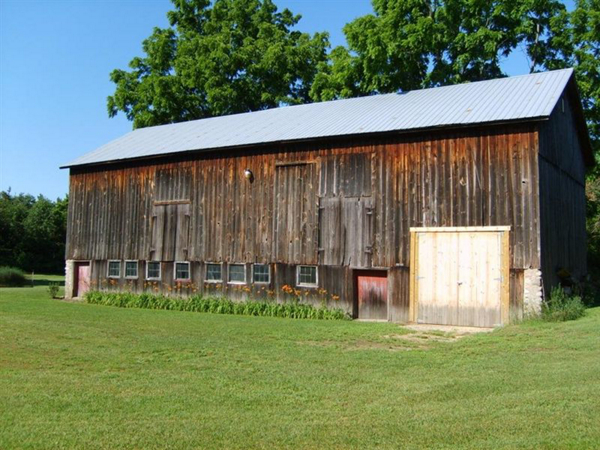 A barn in Kalamazoo that's been renovated into a community meeting place - Tractor Supply Co.