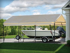 Permanent alternative to a fixed garage. Shop Now & Shelterlogic Portable Garages Canopies and Shelters | Tractor ...