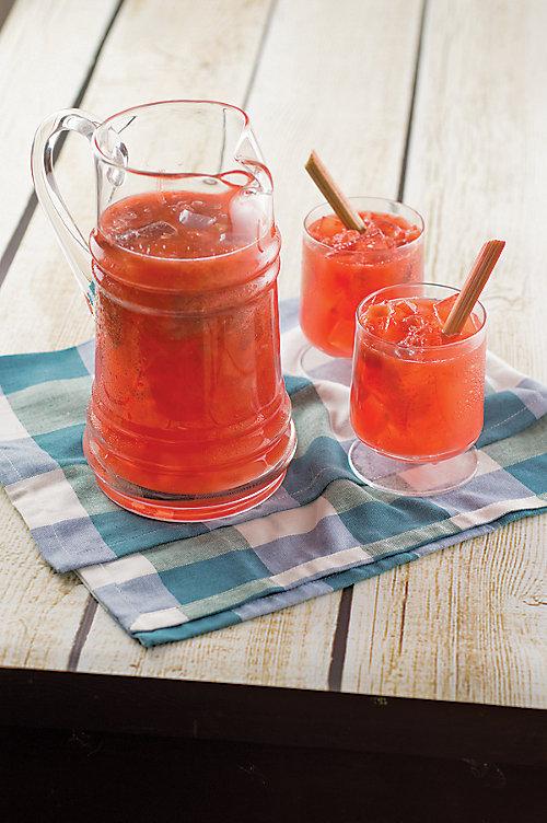Rhubarb Punch