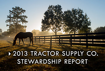 2013 Tractor Supply Co. Stewardship Report