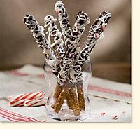 Peppermint Chocolate Sticks