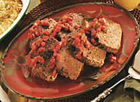 Terry's Salsa Meatloaf