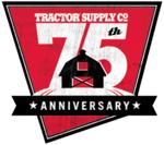 Tractor Supply Diamond Anniversary logo