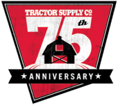 Tractor Supply Diamond Anniversary logo