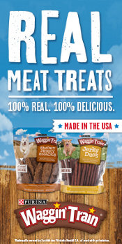 Shop Waggin' Train Real Meat Treats, Made in the USA