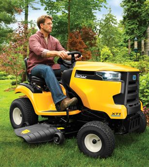 Image result for lawn and garden tractors cub cadet
