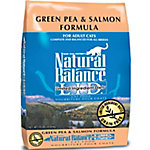 Natural Balance L.I.D. Limited Ingredient Diets Green Pea & Salmon Formula Dry Cat Food, 10 lb.
