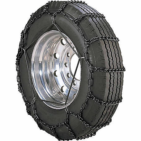 Peerless Chain Tire Chains with Tightener, 345/55-17 - 245/75-18