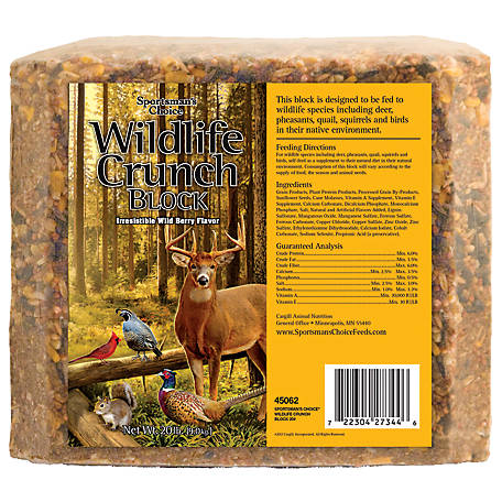 Sportsman's Choice Wildlife Crunch Block