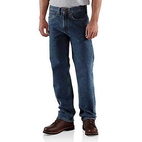 Carhartt Men's Traditional Fit Straight Leg Jean