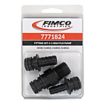 Fimco Port Fittings for High Flo 2.1 GPM. Pump, Pack of 3, 7771824