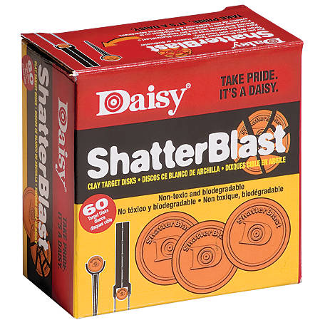 Daisy 60-Count Shatterblast Targets, 990873-406