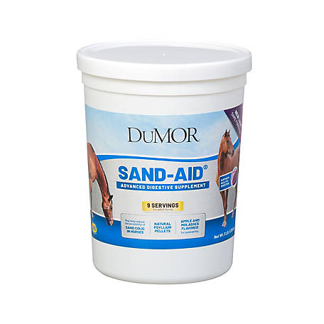 DuMOR Sand-Aid Digestion Supplement for Horses, 3 lb., 29556