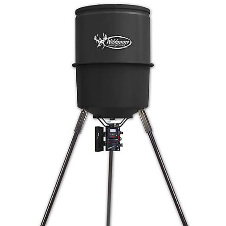 Wildgame Innovations Quick-Set 225 lb. 30 gal. Feeder, W-225D