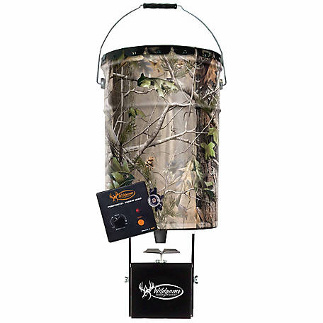 Wildgame Innovations Quick-Set 50 lb. 6.5-Gallon Feeder