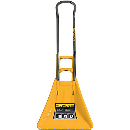 True Temper SnoBoss 26 in. Poly Combo Snow Shovel