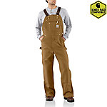 Carhartt Men's Zip-To-Thigh Bib Overalls
