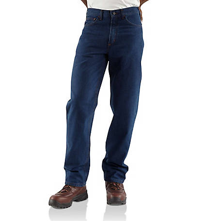 Carhartt Men's Flame Resistant Signature Denim Jean