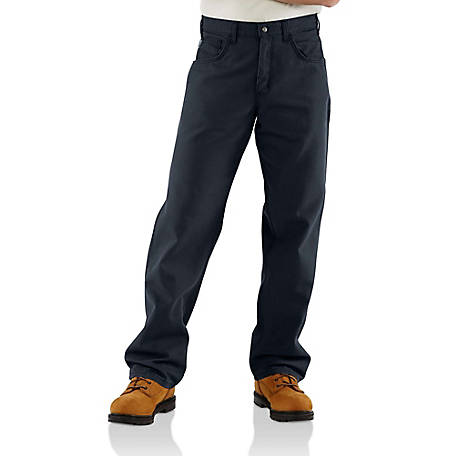 Carhartt Men's Flame Resistant Canvas Jean