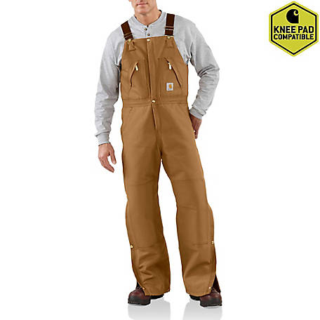 Carhartt Men's Zip To Waist Biberalls