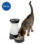 PetSafe Healthy Pet Water Station, Dog and Cat Water System with Stainless Steel Bowl, Small, 64 oz. Capacity