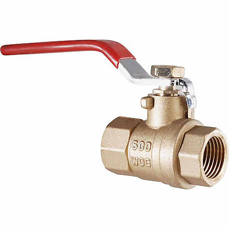 LDR Ball Valve Full Port Low Lead 1 in. I.P.S.