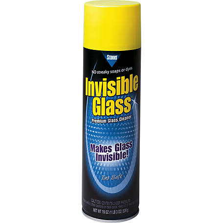 Stoner Invisible Glass Cleaner, 19 oz. Aerosol