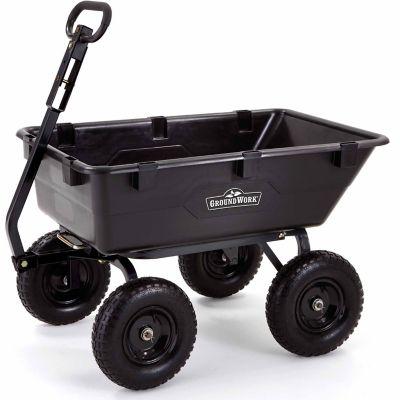 Capacity Pro Series Poly Dump Cart