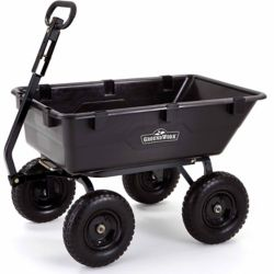 Shop GroundWork 1400 lb. Heavy Duty Dump Cart at Tractor Supply Co.