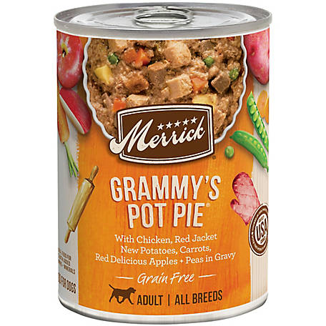 Merrick Grain Free Grain Free Grammy's Pot Pie Wet Dog Food, 12.7 oz.