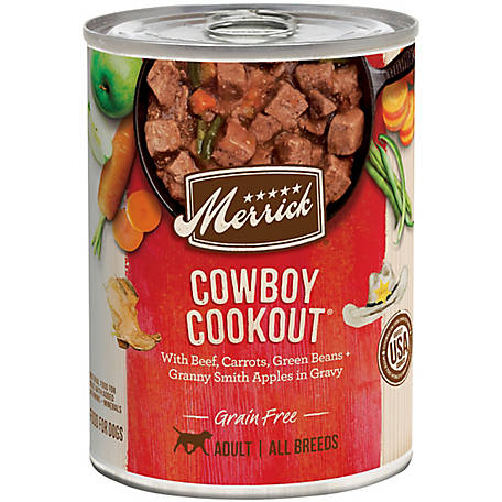 Merrick Grain Free Classic Cowboy Cookout Wet Dog Food