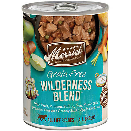 Merrick Grain Free Grain Free Wilderness Blend Wet Dog Food