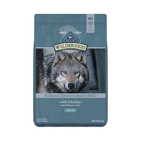 Blue Buffalo Wilderness Chicken For Adult Dogs, 11 lb. Bag