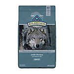 Blue Buffalo Wilderness Chicken Recipe Dog Food For Adult Dogs, 24 lb. Bag