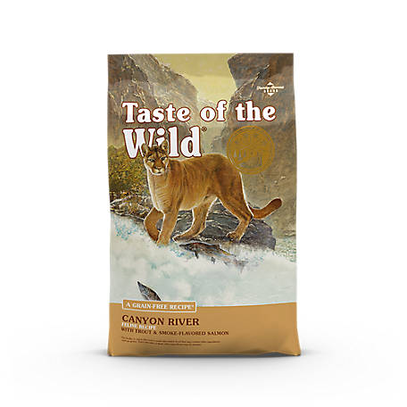 Taste of the Wild Canyon River Feline Formula with Trout & Smoked Salmon, 5 lb.